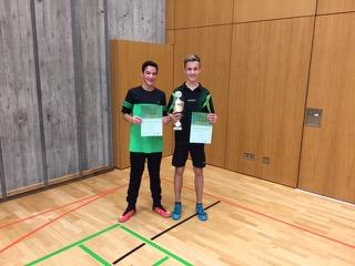 TIschtennis Jugendvereinsmeister 2017
