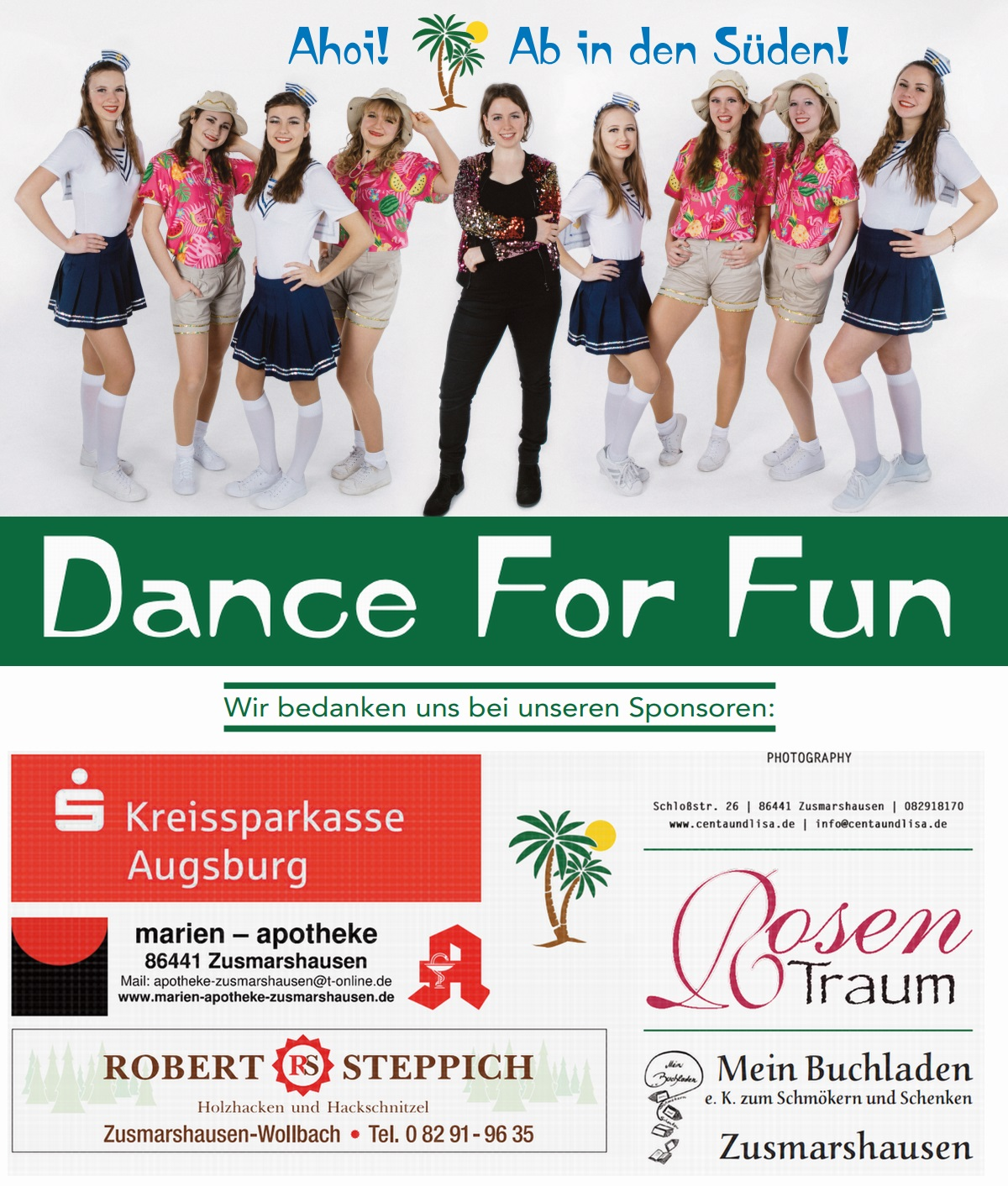 Dance For Fun - Flyer 2019