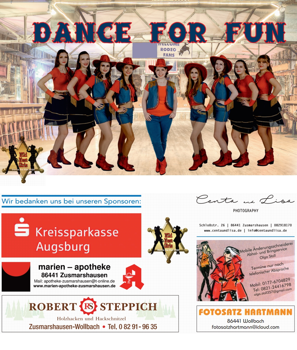 Dance For Fun - Flyer 2020