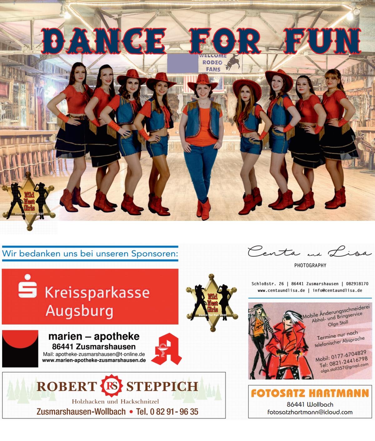 Dance For Fun - Flyer 2020